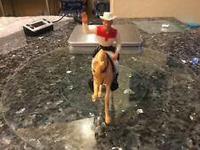 Roy Rogers Hartland W/ Horse Hat & Original Box Mini Rider Set Plastics Lot Marx