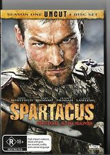 SPARTACUS BLOOD AND SAND SEASON 1 UNCUT 3 DISC DVD SET WITH SLIPCASE