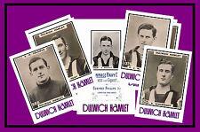 DULWICH HAMLET - RETRO 1920's STYLE - NEW COLLECTORS POSTCARD SET