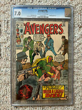 The Avengers Book #81 10/70 1970 Graded 7.0 by CGC Roy Thomas Story