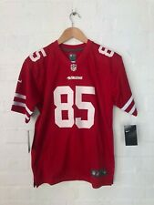 Nike San Francisco 49ers NFL Kid's Home Jersey - 8 Years - Kittle 85 - New