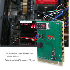 4-Digit Card PC Analyzer Computer Diagnostic Motherboard POST Tester for PCI&ISA