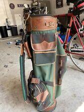 New listing Vintage Spalding Golf Bag with Rain Hood preowned