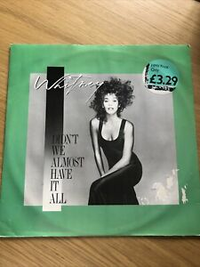 Whitney Houston - Didn't We Almost Have It All - 12 Inch Vinyl Record