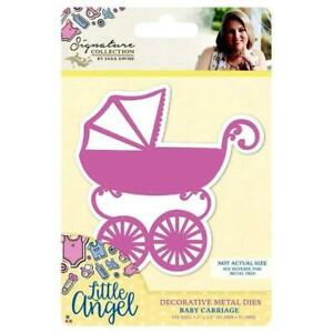 SALE New Sara Davies Little Angel Collection Die Baby Carriage