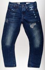 G-Star Raw Type C 3d Loose tapered w32 l30 Wisk Denim Jeans Hose azul nuevo!!!