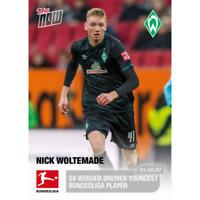 2019-20 Topps NOW Bundesliga #115 Nick Woltemade SV Werder Bremen RC Rookie SP