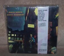 DAVID BOWIE RYKO  2 x LP * SEALED * ZIGGY STARDUST- CLEAR VINYL