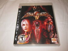 Soul Calibur IV (Playstation PS3) Original Release Complete Nr Mint!