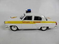 GAZ M21 Volga Police bulgare 1/43 -Ist Voiture miniature Diecast PM30