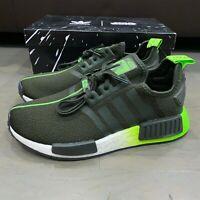 Adidas Youth NMD_R1 Originals Yoda Legend Earth Solar Green FW3941 New