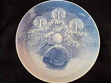 B & G, Bing & Grondahl, 1895-1980 Christmas Plate, Happiness Over the Yule Tree