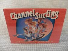 Vtg 90s CHANNEL SURFING Milton Bradley TV Game *New & Sealed* Ages 12+ FREE SHIP
