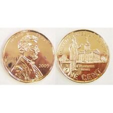 LINCOLN 2009 SPRINGFIELD PENNY JUMBO 3 INCH COIN - PAPERWEIGHT NEW 70948