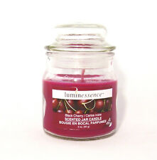 BLACK CHERRY Jar Candle with lid (Luminessence)