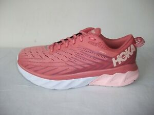 STUNNING HOKA ONE ONE ARAHI 4 PINK MIX RUNNING TRAINERS SZ 7 UK EXCELLENT!!
