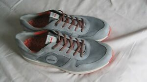 NEW ECCO Street Retro ETOS grey/orange Spikeless Golf Shoes sz EU46 (US 12-12.5)