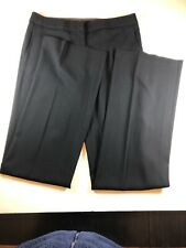 NWT BCBG Maxazria SEQUIN SLIM FLARE CARLA Black Pants Womens 10