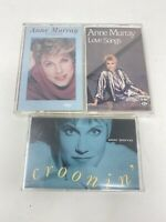 Anne Murray Croonin' Favorites Love Songs Tapes Cassettes 90s Pop Vintage- RARE!