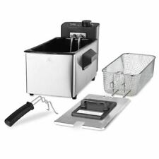 3L ELECTRIC DEEP FAT FRYER NON STICK WITH BASKET COMPACT