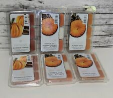 Lot Of 6 - Chesapeake Bay Candle Pumpkin Scents Scented Wax Melts 36 Wax FALL