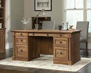 Sauder Palladia Collection Executive Desk