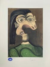 """Pablo Picasso: """"Le Guerre"""" 1954. Signed & Numbered Color Lithograph"""