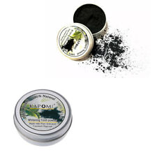Activated Black Organic Charcoal Bamboo Toothpaste Teeth Whitening Powder
