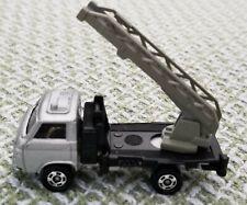 Vintage (1970s) Tomica die-cast car, Nissan Cabal (Ladder Truck). Good shape.