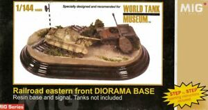 Mig Productions 14440 Railroad Eastern Front Diorama Base 1/14 scale resin kit