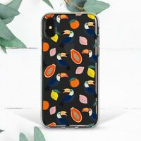 Toucan Bird Tropical Exotic Fruit Case For iPhone 7 8 Plus X SE 11 12 Pro Max XR