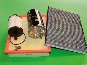 gr. Inspektionspaket Filterset Filtersatz Audi A4 (8E) Bj. 04-08 2.0 TDI