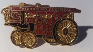 * Fairground Engine Badge - UK Steam Traction Engine