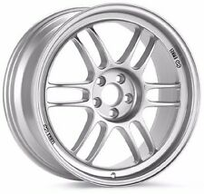 Enkei RPF1 15x7 +35mm Offset 4x100 in Silver | 379-570-4935SP
