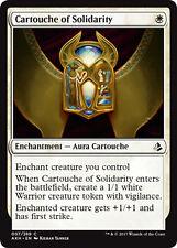 4x Cartouche of Solidarity (Kartusche des Zusammenhalts) Amonkhet Magic