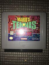 Mario's Tennis (Nintendo Virtual Boy, 1995)