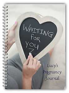 A5 PERSONALISED BABY BOY GIRL NEW MUM PREGNANCY DIARY JOURNAL GIFT 06