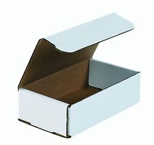 50- 8x5x2 White Corrugated Carton Cardboard Packaging Shipping Mailing Box Boxes