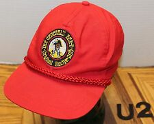 VINTAGE GENERAL'S BAR-B-QUE ORIGINAL RECIPE HAT WASHINGTON ADJUSTABLE VGC