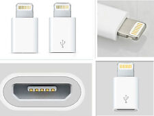 Micro USB to Lightning 8Pin Adapter Converter For Apple I phone 7 and 7 plus