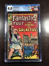 Fantastic Four #48 CGC 4.0 OWW (Marvel 3/66) 1st Galactus and Silver Surfer!