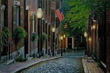 Old Glory by Rod Chase American Flag New York City  Street Scene 10x15 Print
