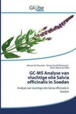 GC-MS Analyse van vluchtige olie Salvia officinalis in Soedan Analyse van v 5948