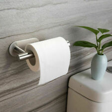 Stainless Steel Toilet Roll Holder Self Adhesive Stick on Bathroom Tissue Holder