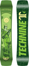BRAND NEW Technine 4/20 Snowboard 144cm GREEN DS17 LIMITED RELEASE WEED TECH9