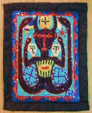 "BOSSOU DAMBALLA  VOODOO OR VODOU FLAG 21"" HIGH X 16"" WIDE BY GN"
