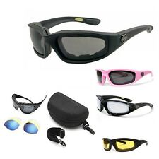 Chopper Wind Resistant Sunglasses Extreme Sports   Motorcycle Riding Glasses H