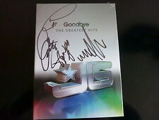 JLS HAND SIGNED GOODBYE GREATEST HITS SUPERDELUXE + PROOF+ 2010 PHOTOS CD