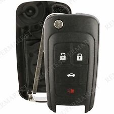 Replacement for Chevy Camaro Cruze Equinox Malibu Remote Key Fob 4b Shell Case