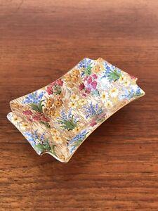 Vintage Rare Royal Winton Grimwades Porcelain Marguerite Butter Dish England